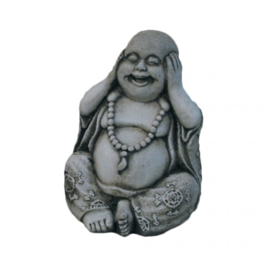 chinese hear no evil buddha fat small No Listen Buddha Statue 23cm