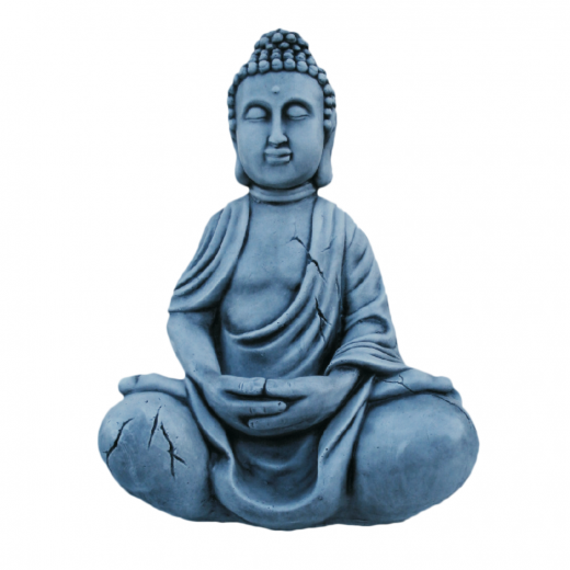 statue stone ornament art garden oriental buddha asian zen Buddha Statue 52cm