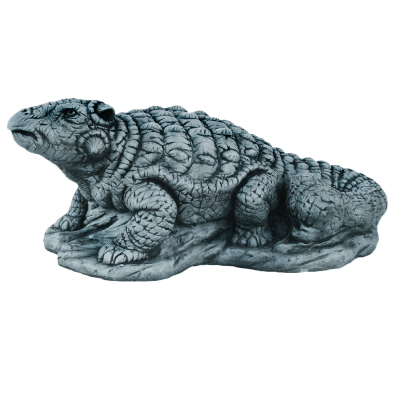 Ankylosaurus 32cm fantasy dragon reptile dino dinosaur animal stone art ornament garden