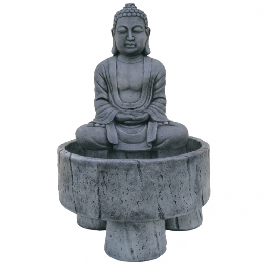 buddha fountain stone art water concrete statue garden oriental Buddha Fountain 102cm