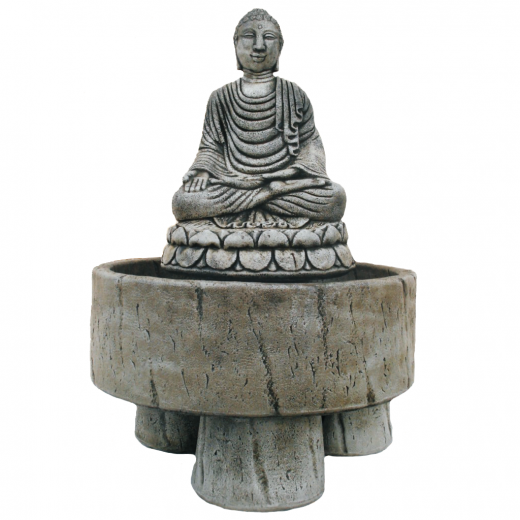bali buddha ornament fountain stone art ornament Buddha Fountain 91cm