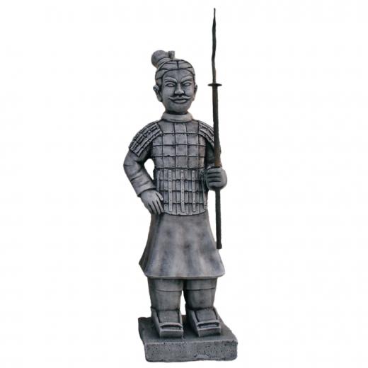 warrior japanese terracotta army spear statue army stone art Spear Warrior 83cm