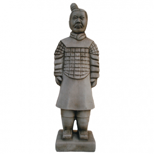 warrior japanese terracotta army statue army stone art Small Warrior 6.5cm
