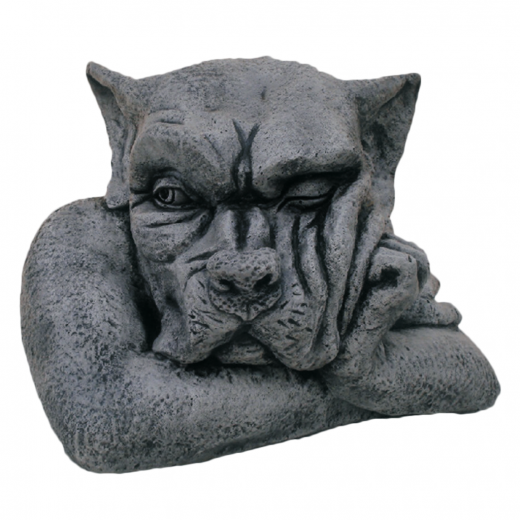 Big Gargoyle Facing Left 36cm head ornament strone concrete art