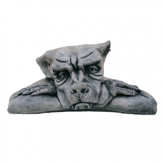 Gargoyle Contemplating Life 24cm stone concrete art ornament statue outdoor