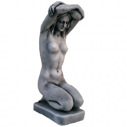 Small Kneeling Woman 50cm small stone ornament statue nude