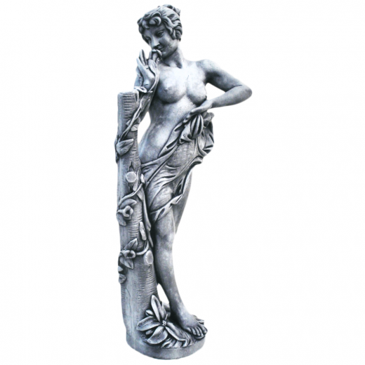Beautiful Flora 120cm statue garden stone ornament lady