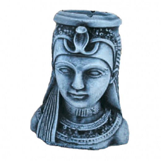 Beautiful Egyptian Lady Head 10cm stone head lady