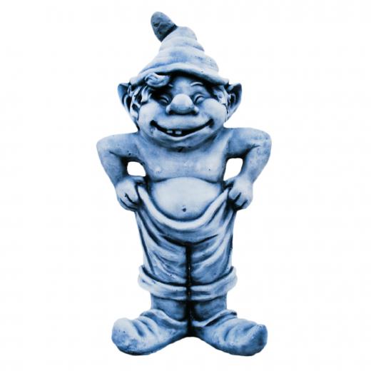 Gnome Trousers 50cm shoes hat smile cute garden statue