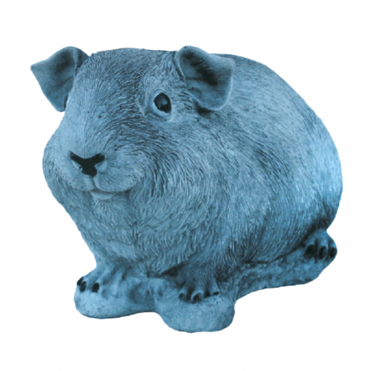 Happy Hamster 14cm cute stone garden ornament art