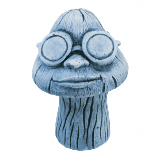 Goggle Wearing Mushroom 26cm shades mushrrom garden lawn stone concrete outdoor ornament statue art