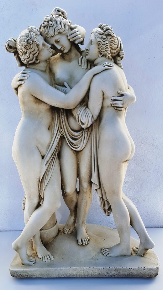 Three Graces Statue 50 cm tall