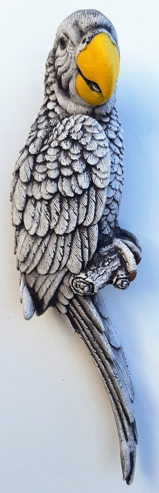 Parrot Wall Plaque 32 cm tall