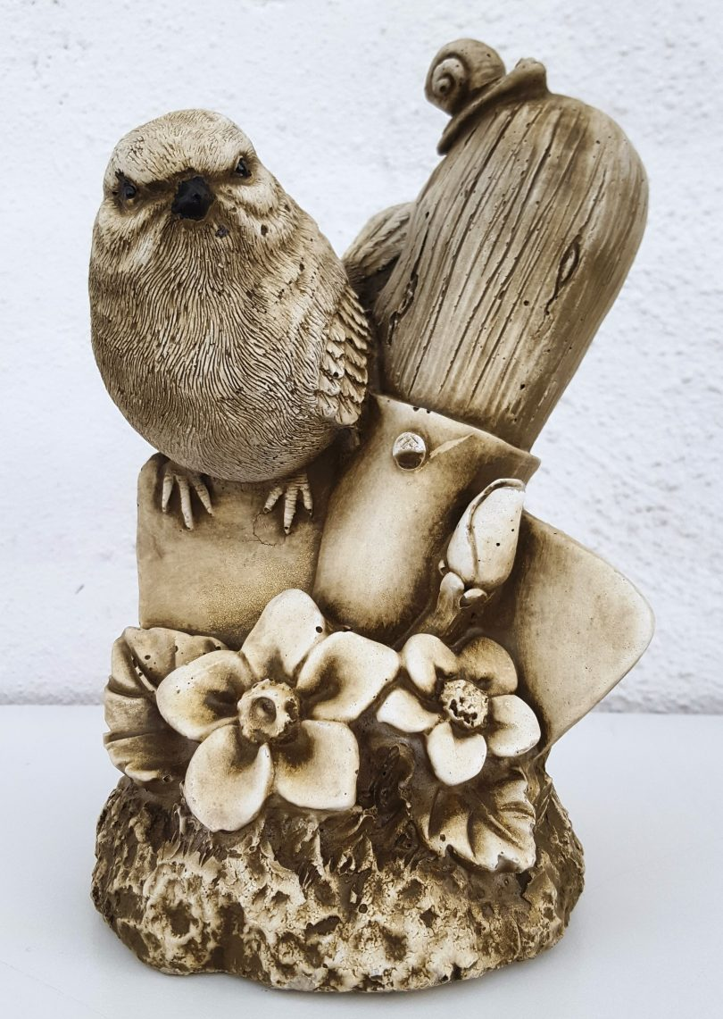 Bird & Spade 20 cm tall
