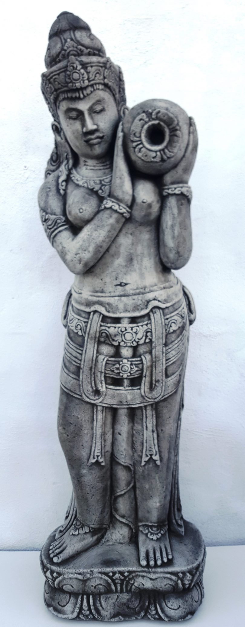 Bali Buddha & Jug Statue 150 cm