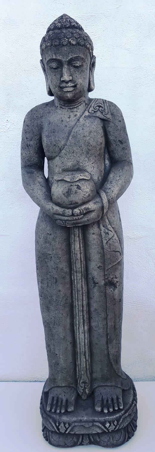 Bali Buddha & Bowl Statue 154 cm