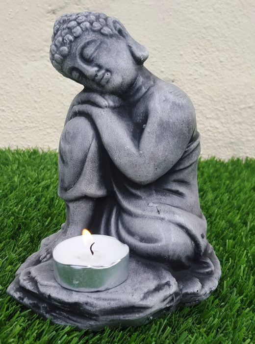 Small sleeping tea light Buddha