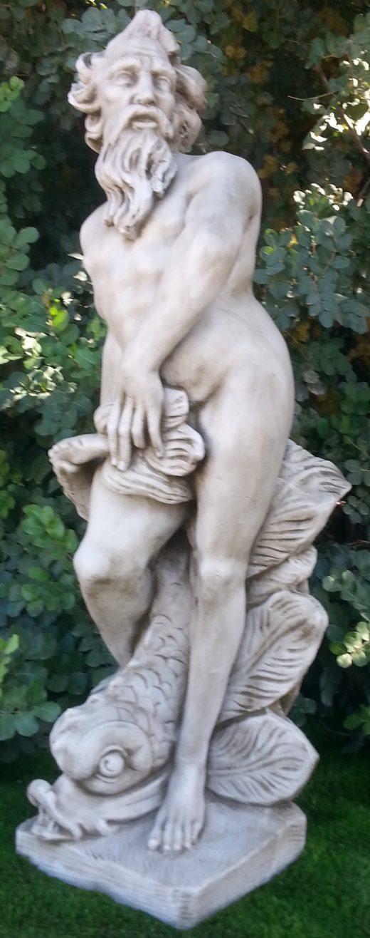 Large Neptune Statue 130 cm