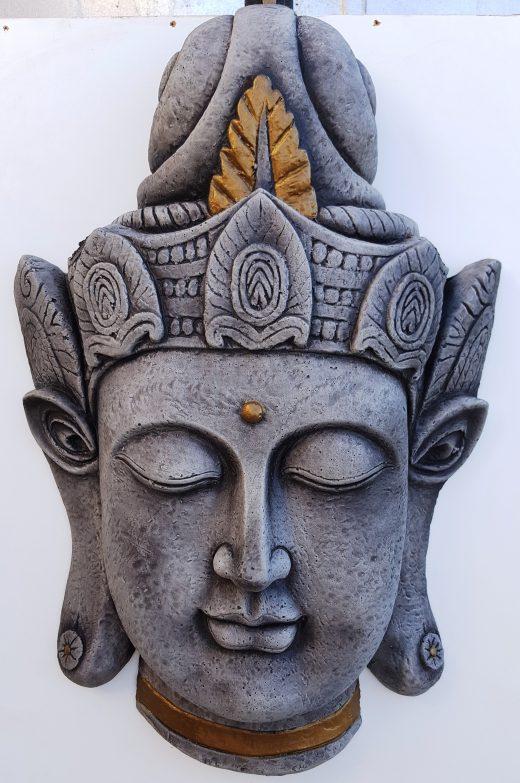 Buddha Plaque 55 cm